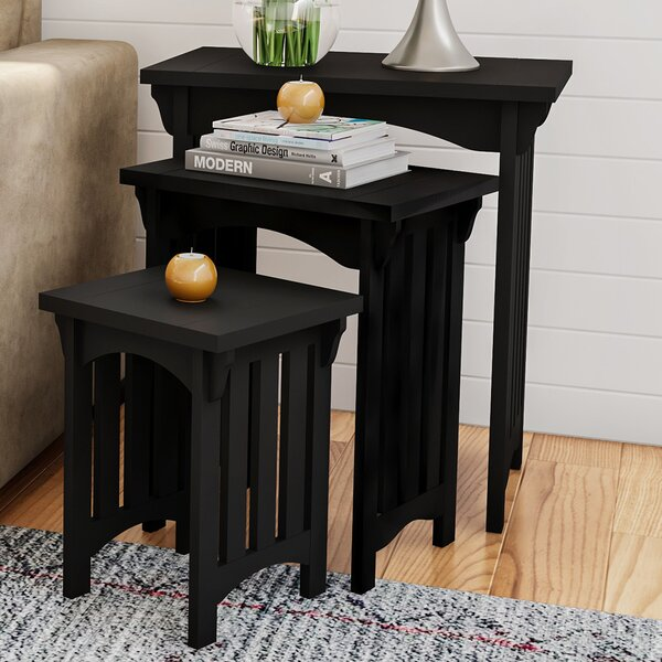 Halloran 3 Piece Nesting Tables (Set of 3) by Gracie Oaks