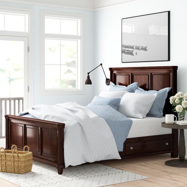 Fromberg Storage Standard Bed by Three Posts