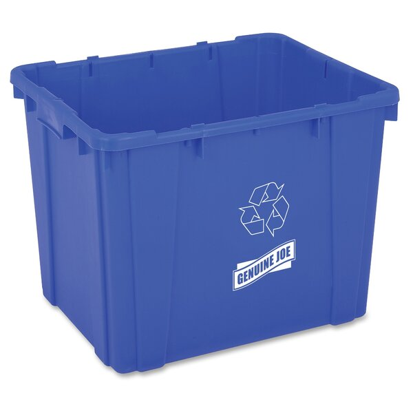 14 Gallon Recycling Bin by Genuine Joe