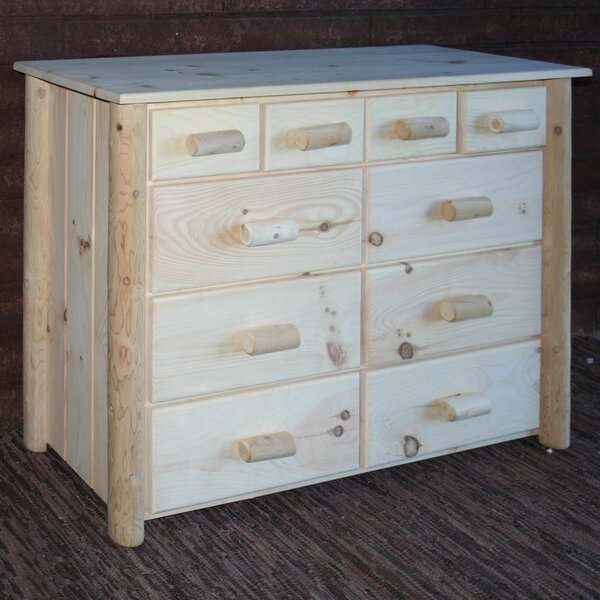 Frontier 10 Drawer Combo Dresser by Lakeland Mills