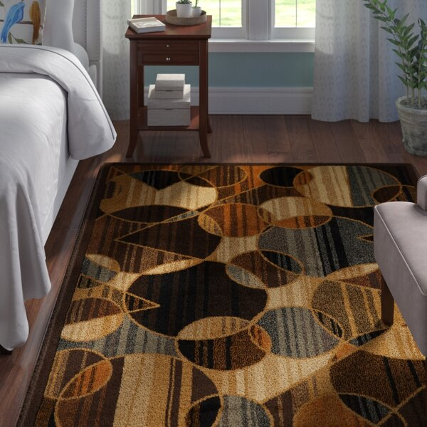 Derrymore Brown Area Rug by Andover Mills