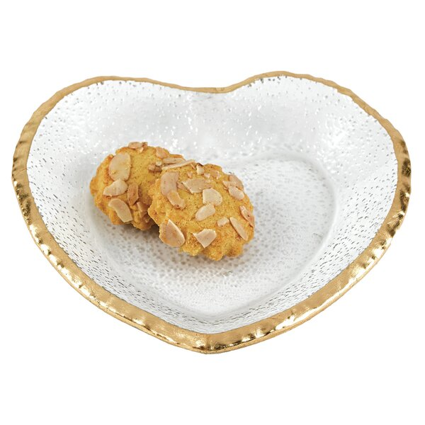 Pingree Heart Platter by House of Hampton