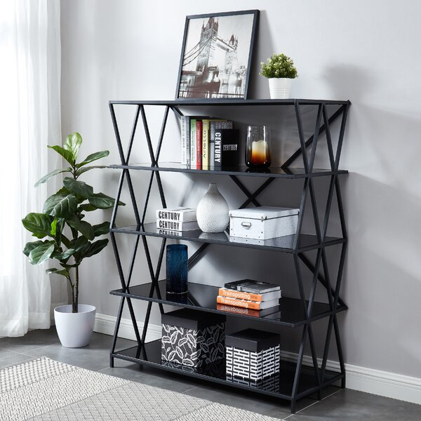 Vizcarrondo Etagere Bookcase By 17 Stories