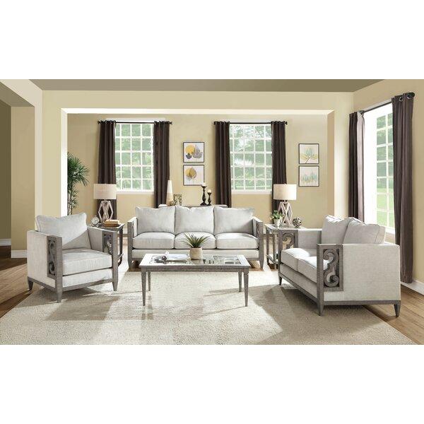 Antwan 3 Piece Conservatory Living Room Set By One Allium Way