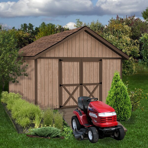Brandon Without Window Solid Wood Storage Shed by Best Barns