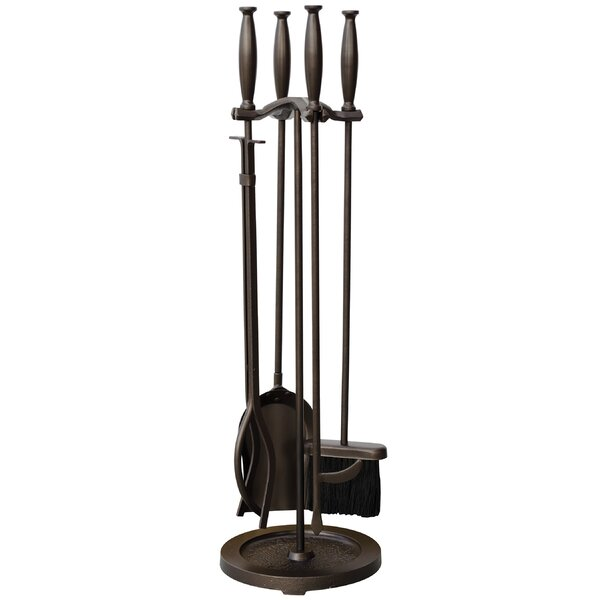 5 Piece Fireplace Tool Set by Uniflame Corporation