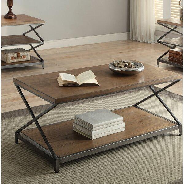 Clayton Coffee Table by Brayden Studio
