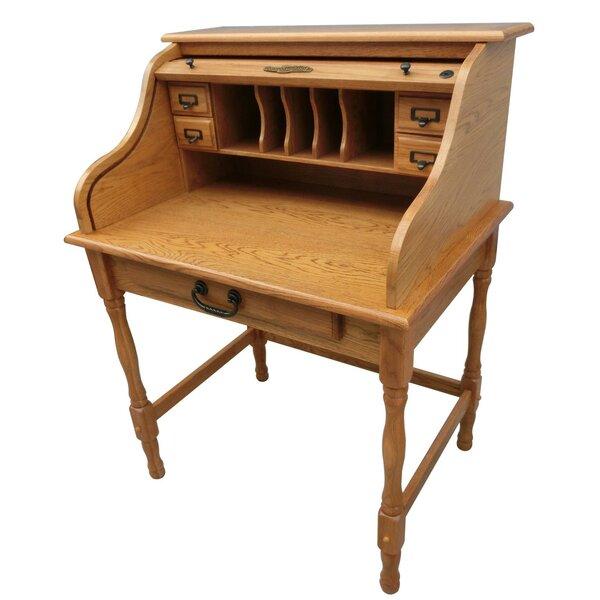 Lonie Roll Top Secretary Desk by Chelsea Home