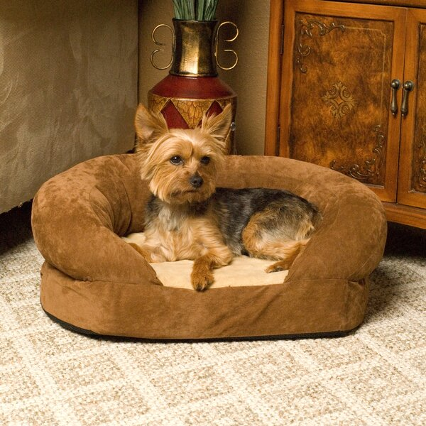 Orthopedic Sleeper Bolster Dog Bed by K&H Manufacturing