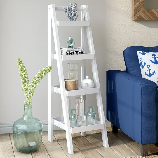 Hensley Ladder Bookcase by Beachcrest Home