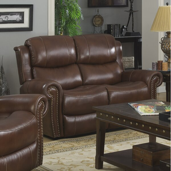Rusnak Reclining Loveseat by Charlton Home