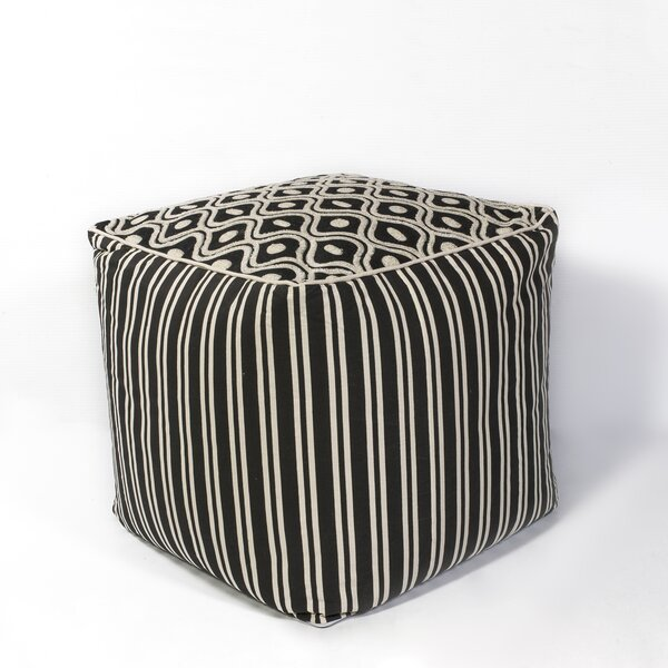Hillside Groove Pouf by Red Barrel Studio
