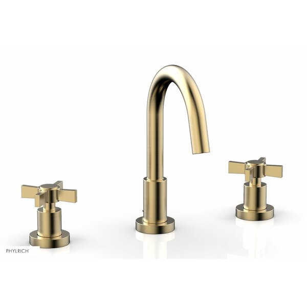 Basic Widespread Bathroom Faucet with Drain Assembly