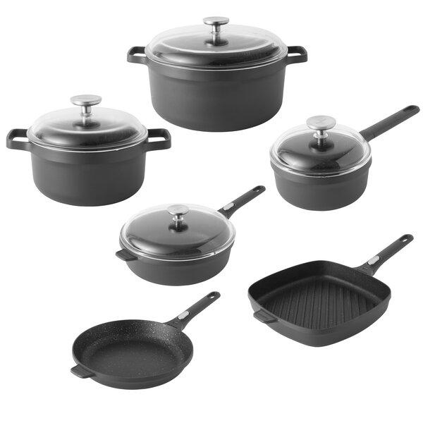 Gem 6 Piece Non-Stick Cookware Set by BergHOFF International