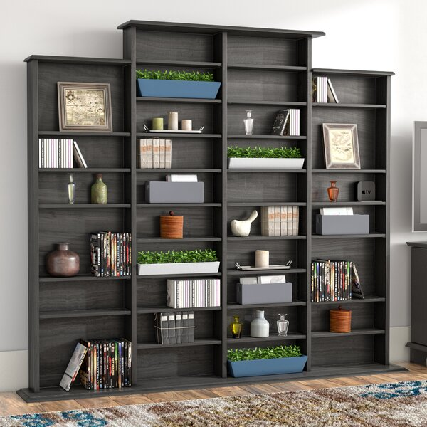 Lamb Quad Multimedia Storage Rack by Red Barrel St