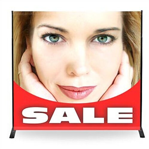 32 - 96 Width Adjustable Powerframe Banner Display