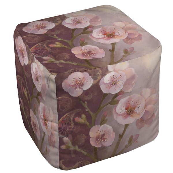 Gypsy Blossom 1 Pouf by Manual Woodworkers & Weavers