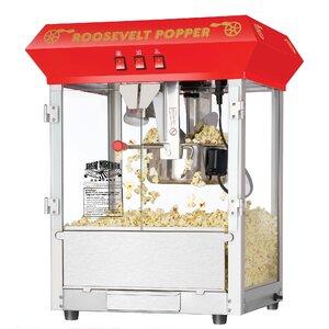 8 Oz. Roosevelt Antique Popcorn Machine