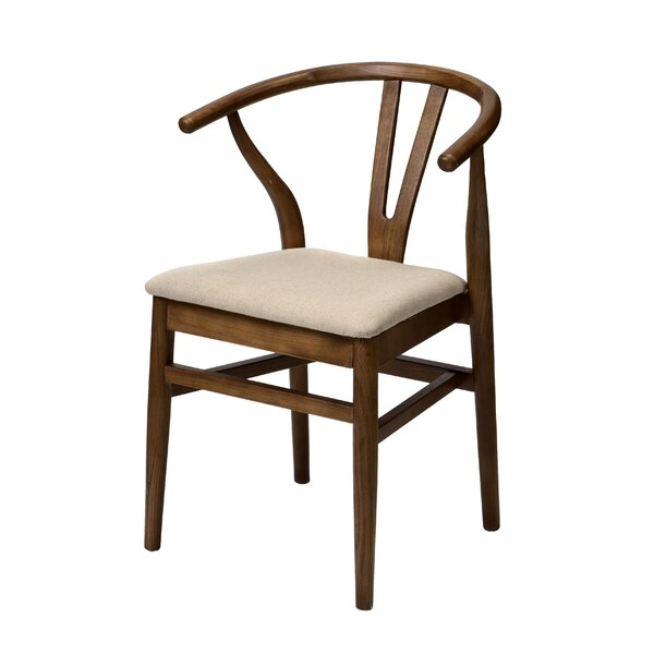 Bloomsdale Solid Wood Dining Chair by Bungalow Rose