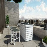 Ariesa Outdoor 3 Piece Bar Set byCosmoLiving by Cosmopolitan