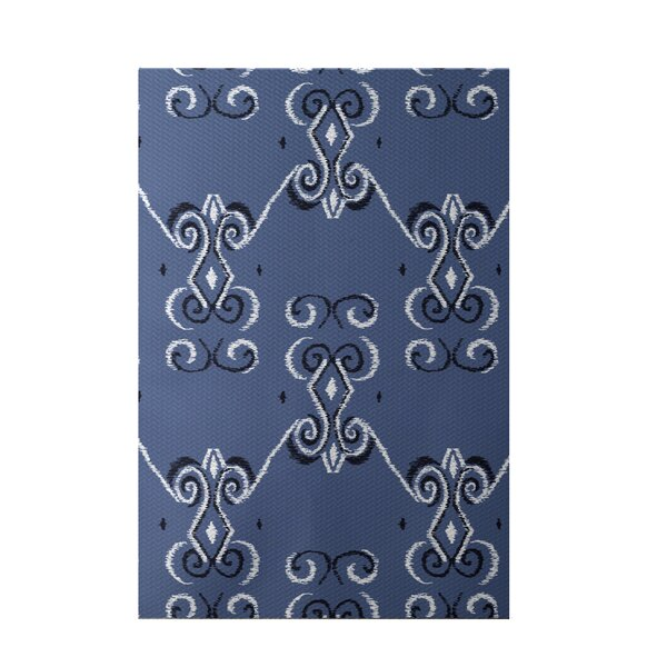 On the Line Print Cadet Indoor/Outdoor Area Rug by e by design