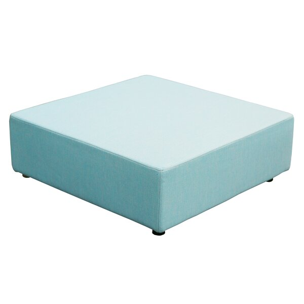 Merkley Outdoor Ottoman with Cushion by Latitude Run