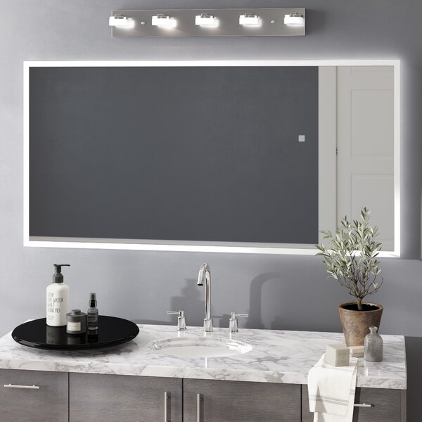 Jessalyn LED Bathroom/Vanity Mirror by Orren Ellis
