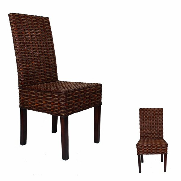Strahan Designed Rattan Patio Dining Chair by Bay Isle Home