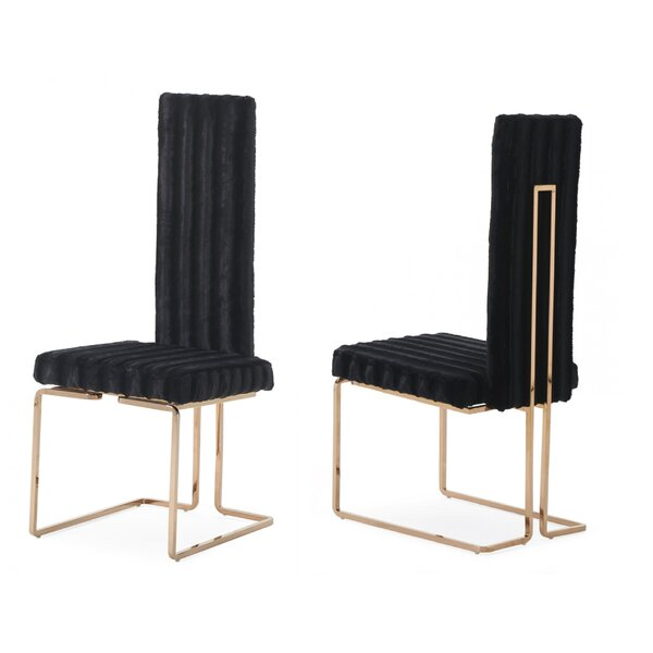 Jayleen Solid Back Side Chair (Set of 2) by Willa Arlo Interiors