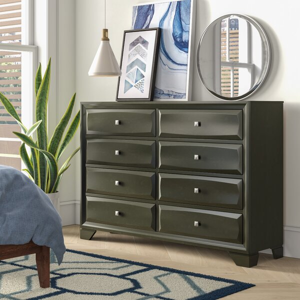 Hersacher 8 Drawer Double Dresser by Latitude Run
