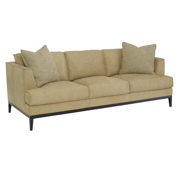 Alford Leather Sofa by Bernhardt