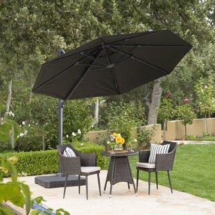 Black Patio Umbrellas You Ll Love Wayfair