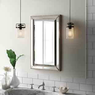 Bathroom mirrors you 39 ll love wayfair - Large medicine cabinet mirror bathroom ...