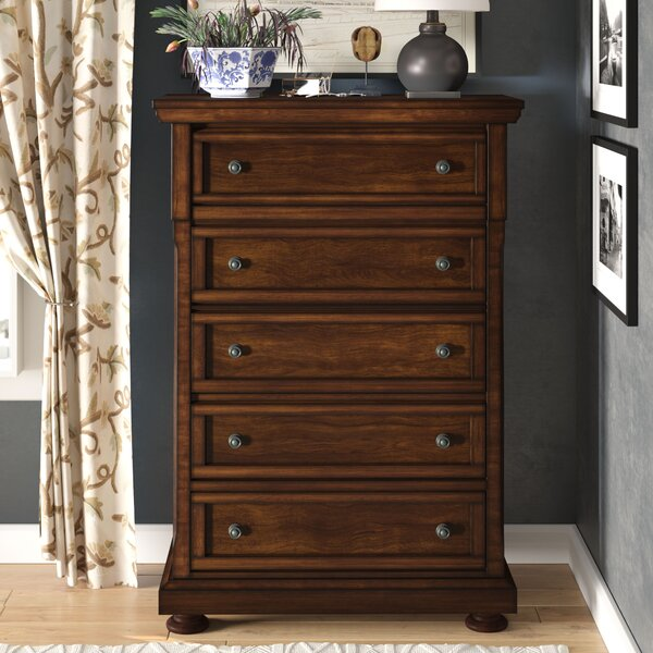 Vitela 5 Drawer Chest by Darby Home Co