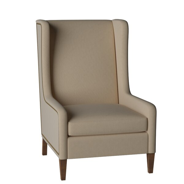 Reagan Wingback Chair by Gabby