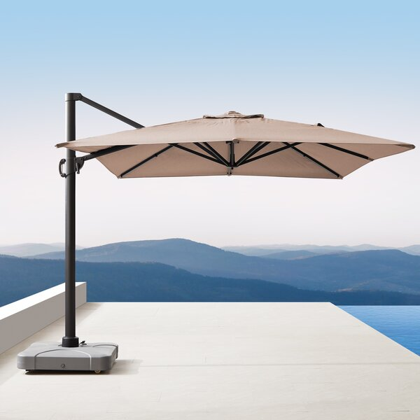 Bridgnorth 10' x 13' Rectangular Cantilever Sunbrella by Freeport Park