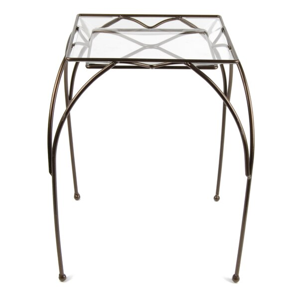 Square Table Plant Stand by Plastec