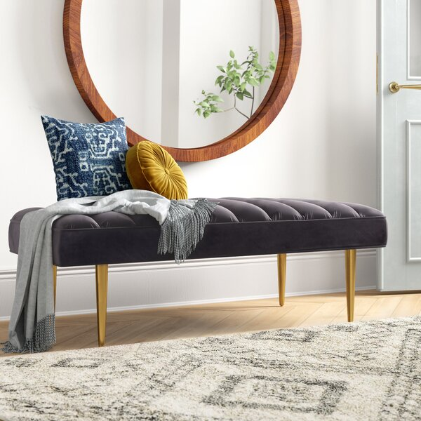 Alden Upholstered Bench by Foundstone Foundstone