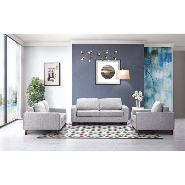 Courter Sleeper 3 Pieces Living Room Set by Corrigan Studio