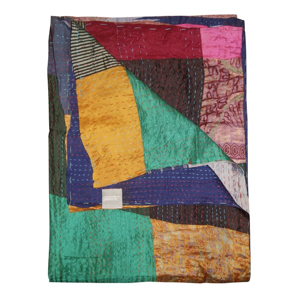 Moorebank Silk Throw by Bloomsbury Market