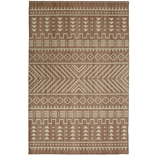 Desi Taupe Area Rug by Union Rustic