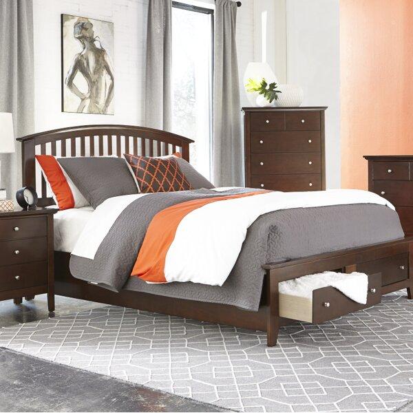 Hallberg Storage Standard Bed by Red Barrel Studio