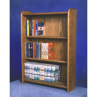 Check Prices 300 Series 120 DVD Multimedia Storage Rack By Wood Shed