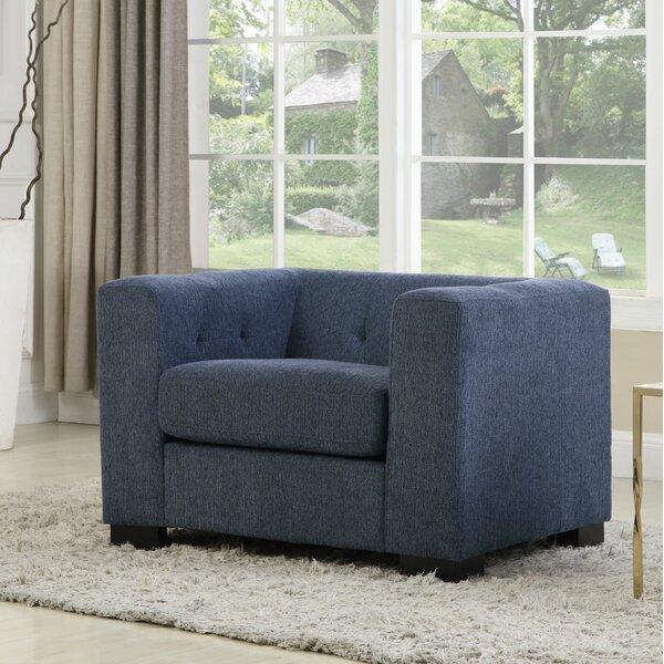 Aquilla Chenille Club Chair by Brayden Studio