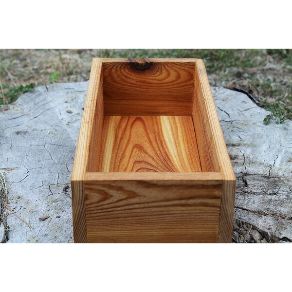 Sylvester New Cedar Planters Box by Millwood Pines