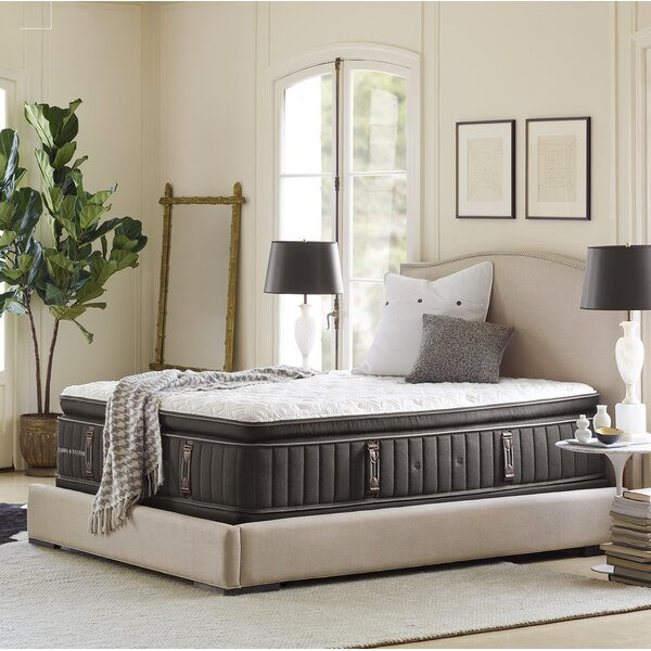 Reserve™ 16.5'' Plush Pillowtop Mattress and Box Spring by Stearns & Foster