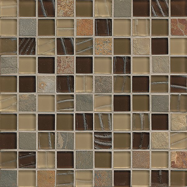 Queenstown 12 x 12 Stone Mosaic Tile in Masterton by Grayson Martin