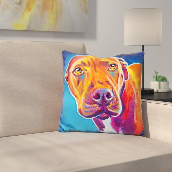 Emma Throw Pillow by East Urban Home