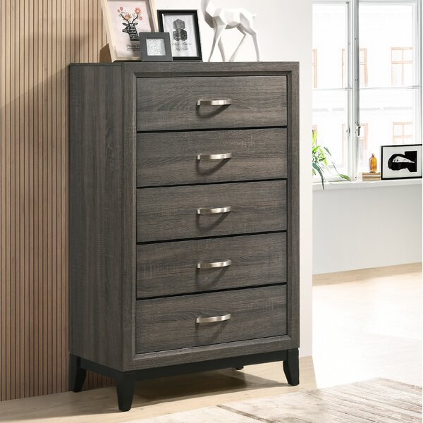 Macy 5 Drawer Chest by Wrought Studio
