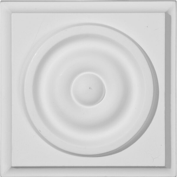 Anthony 3 3/4H x 3 3/4W x 1 3/8D Plinth Block by Ekena Millwork